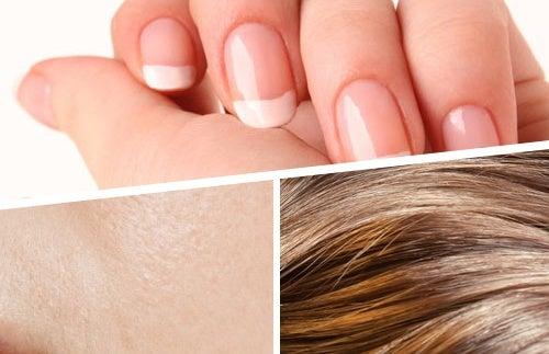 Batidos para fortalecer cabello, piel y uñas