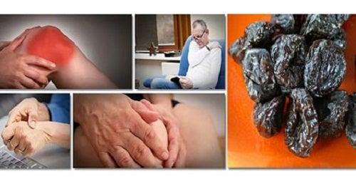 Ciruelas contra la pérdida de masa ósea