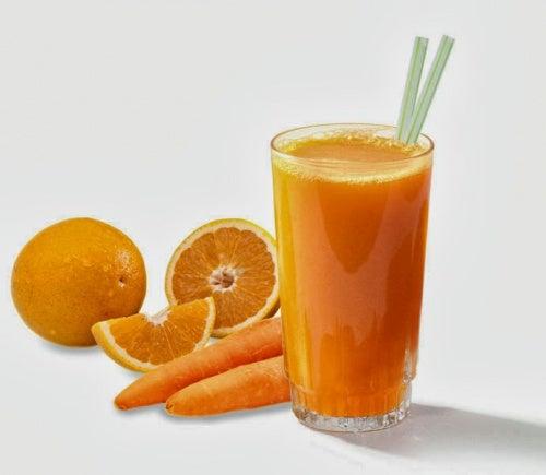 Zumo-de-maranja-y-zanahoria