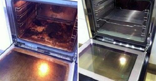 Cómo limpiar el horno con productos naturales