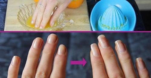 Tratamiento de aceite de oliva para fortalecer las uñas naturalmente