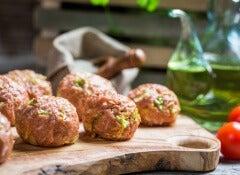 albondigas brocoli jamon queso