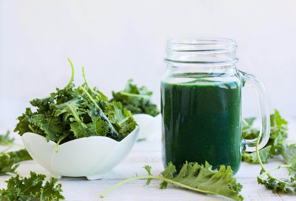 Fuentes de clorofila para complementar la dieta.