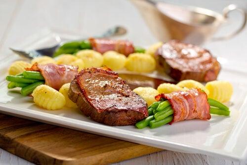 Medallones de patata y jamón