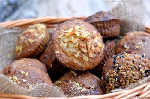 muffins Panecillos de naranja