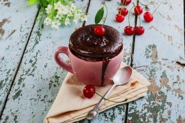 Mug cake (bizcocho en taza)