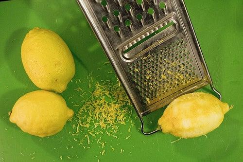 ralladura limon-barritas de cheesecake