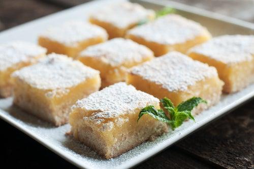 Sbriciolata de limón, receta italianísima y sencilla