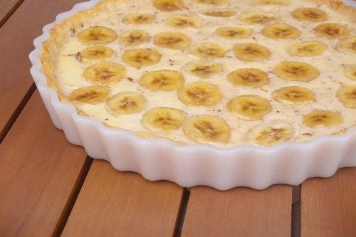 tarta platano