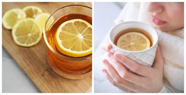 Las increíbles propiedades del té de cáscara de limón