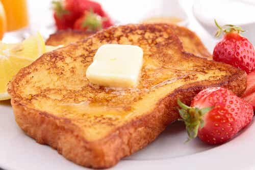 Recetas de tostadas francesas