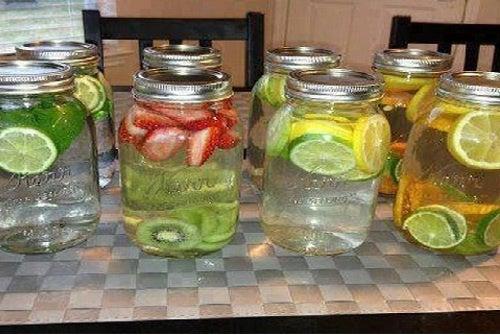 Agua-saborizada