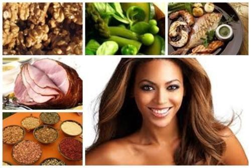 Alimentos para crecer el pelo