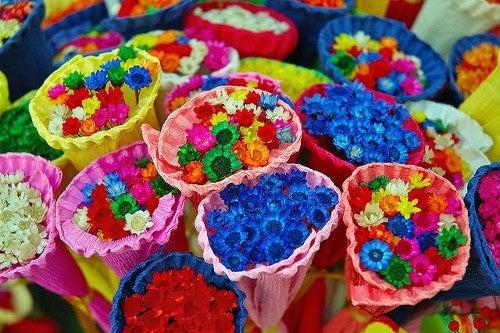 Mejora tu estado de ánimo con los aromas y los colores