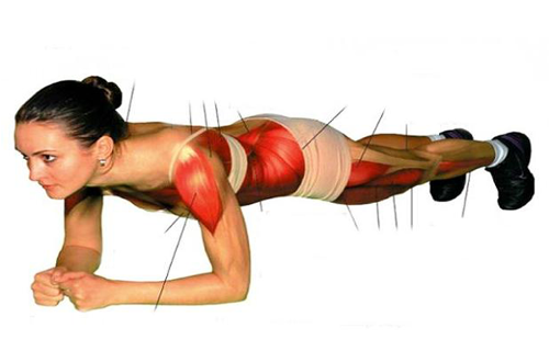"""""""Plank"""": el ejercicio abdominal que trabaja todo tu cuerpo"""