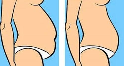 ¿cómo puedo deshacerme de una barriga gorda