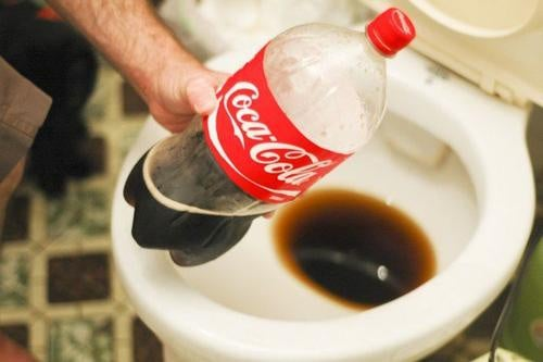 Coca-cola pytyssä