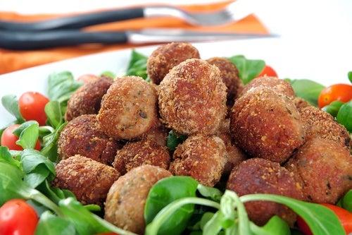 Receta sencilla y original de albóndigas vegetales