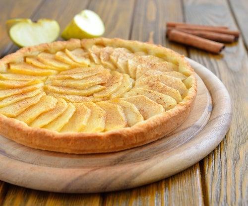 bizcocho manzana y canela