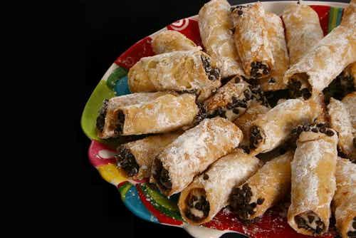 Recetas de cannolis rellenos de chocolate