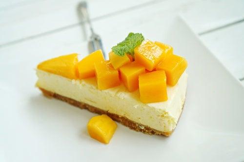 cheesecake piña mango