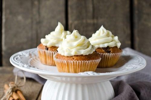 cupcakes calabaza-muffins de calabaza