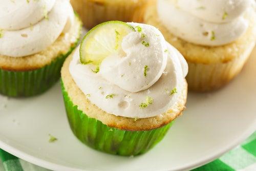 Prueba los cupcakes de margarita: ¡cocktail-cakes!