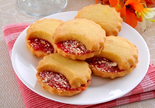Jelly cookies (Galletas de gelatina)