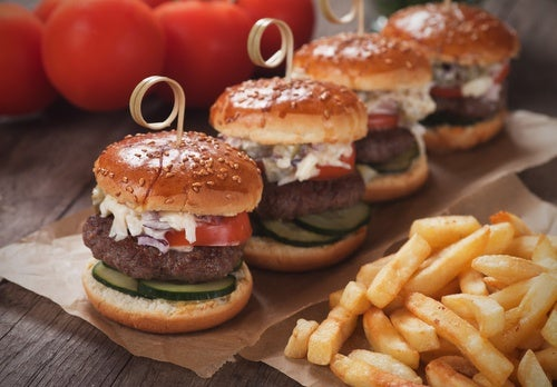 Receta de mini hamburguesas variadas