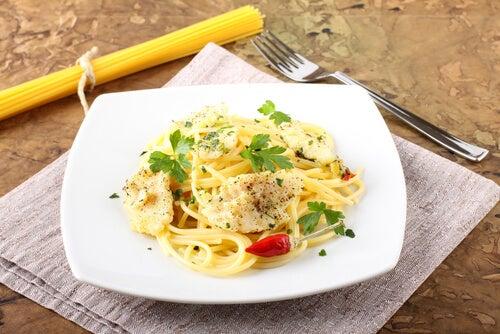 2 recetas de pasta con pez espada