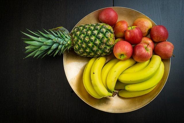 plátanos saludables recubiertos de chocolate y diabetes