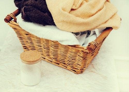 Tus toallas estarán siempre como nuevas si empleas menos productos químicos.