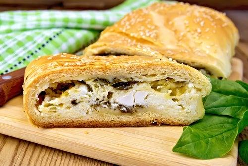 strudel espinacas con queso 2