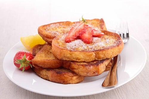 Recetas de tostadas francesas o torrijas al horno