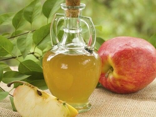 Vinagre de manzana hongos en la cabeza