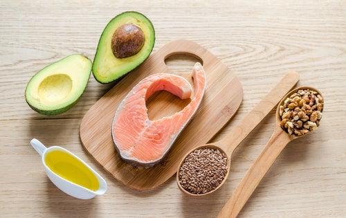 Grasas-saludable nutrientes