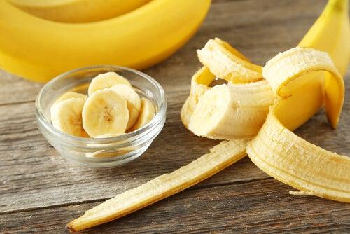 plátano para depurar el colon