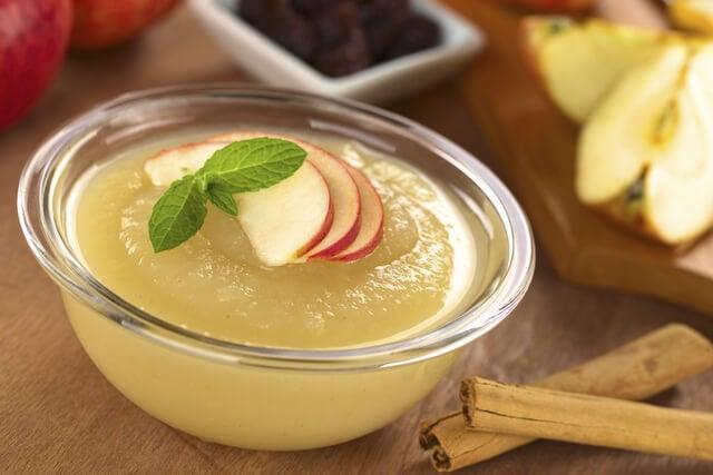 ¿Por qué la compota de manzana es el postre más sano?