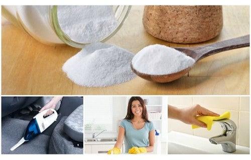 6 usos curiosos del bicarbonato de sodio