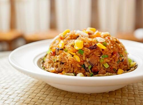 arroz a la cantonesa