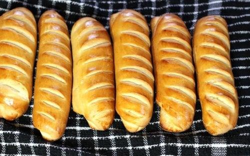 Receta de baguette viennoise