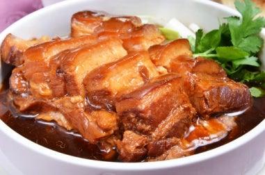 cerdo teriyaki - cerdo glaseado con miel