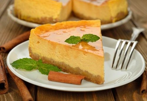 Tarta de queso sin azúcar