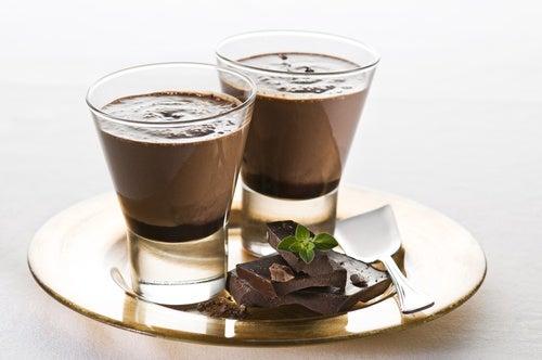 Chocolate caliente congelado