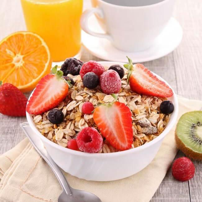 Desayunar fruta