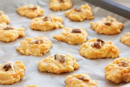 Aprende a preparar galletas de zanahoria