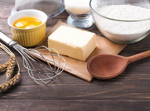 Ingredientes para la tarta mágica