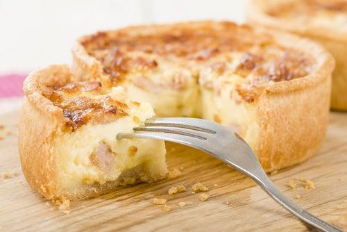 Mini cheesecake de salmón