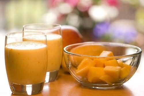 papaya y kefir