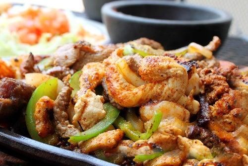 Chop suey de pollo y verdura